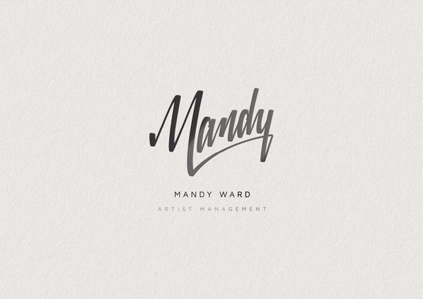 artist logo mandy ward artist management