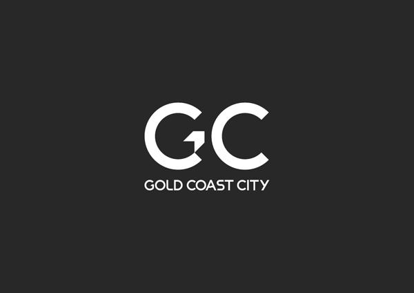 Gold Coast logo concept monochrome
