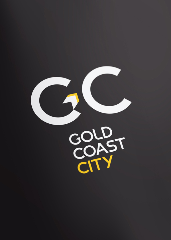 Gold Coast brand concept three colour