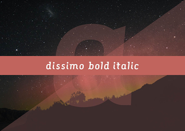 Dissimo Font Family