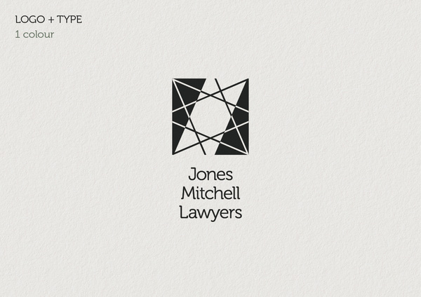 Jones Mitchell one colour logo