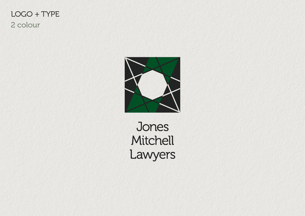Jones Mitchell two colour logo