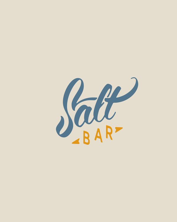 Saltbar logo and Corporate Identity
